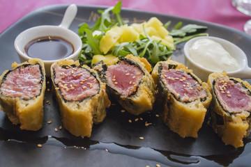 Tuna in puff pastry
