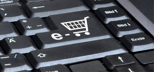 Enter key in black - e-basket - g658