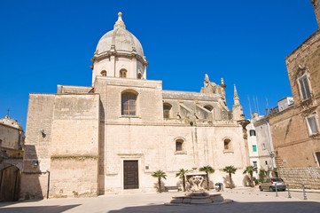 Church of SS. Pietro and Paolo. Monopoli. Puglia. Italy.