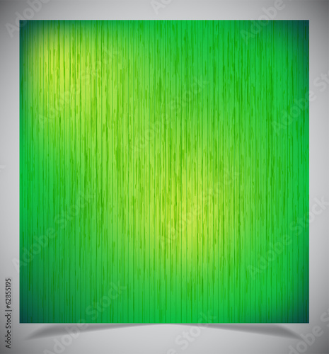 Abstract green wood background