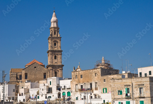 Panoramic view of Monopoli. Puglia. Italy.