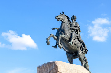 The Bronze Horseman, St.Petersburg, Russia