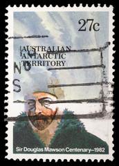 Stamp printed in Australian Antartic Territory