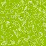 Fototapety Background fruits and vegetables