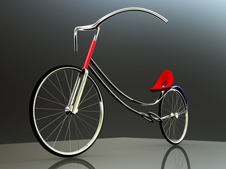 concept of electric bike