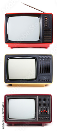 Vintage portable TV sets