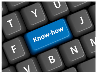 """KNOW-HOW"" Key on Keyboard (professional knowledge expertise)"