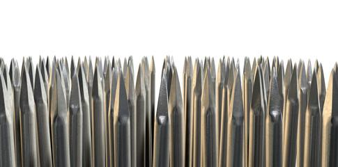 Nails Array Abstract Macro