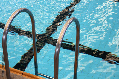 swimming pool stair