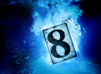 sinking number eight