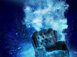 sunken armchair