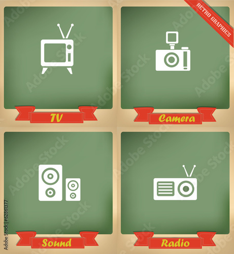 Technology sign, icons,vector