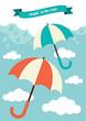 Umbrella and Rain Clouds