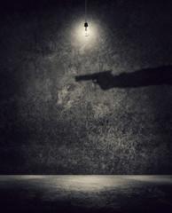 killer in shadows
