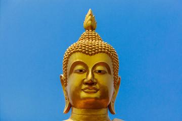 A statue of Buddha Head