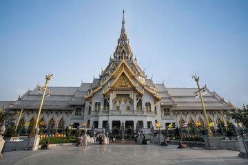 A beautiful temple in Thailand (Wat Sothon, Chachoengsao)