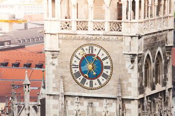Glockenspiel Clock in Munich, Bavaria, Germany