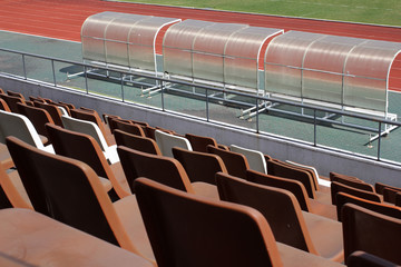 old Stadium Seats