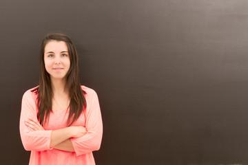 Portrait of teacher
