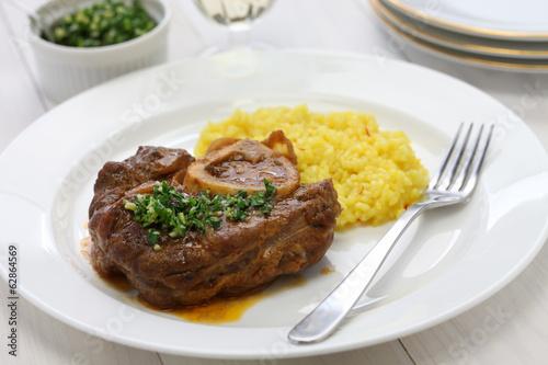 ossobuco alla milanese, italian cuisine - 62864569