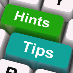 Hints Tips Keys Mean Guidance And Advice