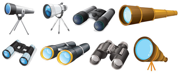 Different telescope designs