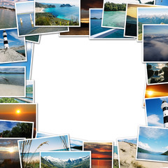 frame of travel photos