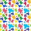 Colorful seamless design