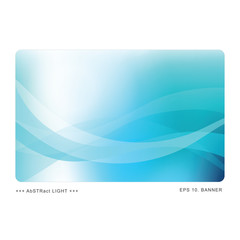Aqua Abstract template with copy space