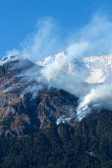 Mountain Fire - Waldbrand