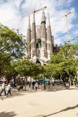 Собор Святого Семейства. Барселона.