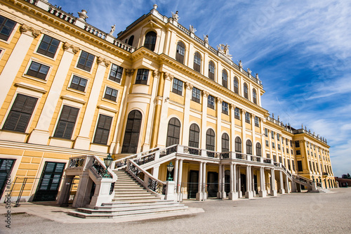 Schonbrunn Palace  in Vienna, Austria. royal residence