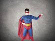 child superhero costume with cape house production
