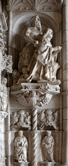 Architectural details of Jeronimos Monastery
