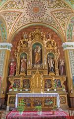 Trnava - Side altar of st. Joseph in Jesuits church