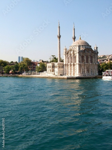 old mosque on Bosporus, Istanbul