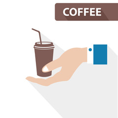 Coffee concept,vector