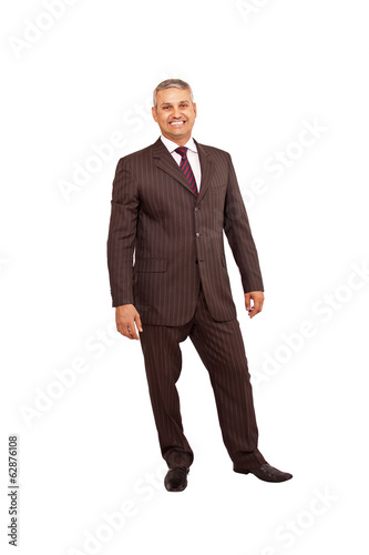 Standing business man