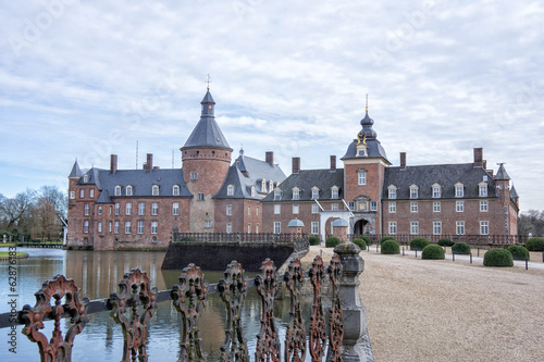 Castle in Anholt, Germany