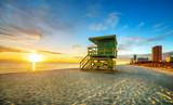 Fototapety Miami South Beach sunrise