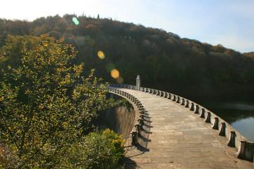 Ottoman barrage in Belgrade Forest, Istanbul,Turkey