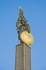 Russian Liberation monument in Vienna, Austria