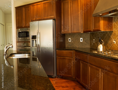 Walkway in to Modern Kitchen