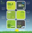 Modern ecology design template