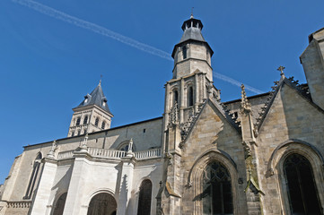 Basilica Saint Seurin at Bordeaux, France