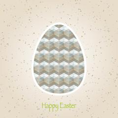 easter eggs retro pattern