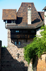 Interesting old house in Nuremberg