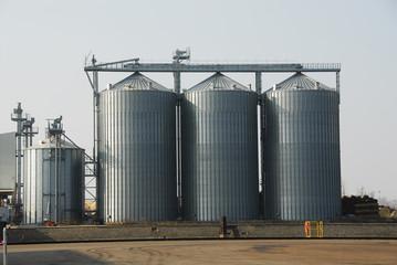 Getreidesilos