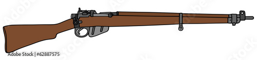 old army rifle