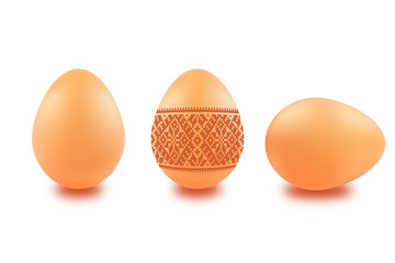 Brown Easter Eggs